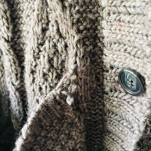 American Eagle Outfitters Sweaters - AEO Cable Knit Cardigan